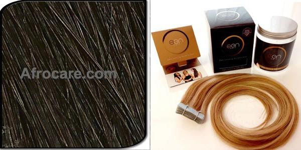 Zen Luxury, Pretaped Hair extensions 18 inch Colour #2