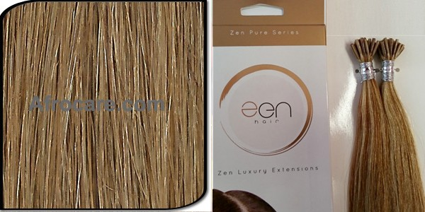 Zen Pure I-Tip Hair Extensions 18 inch Colour #10