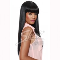 Sleek wig inspired by Nikki Minaj