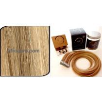 Zen Luxury, Pretaped Hair extensions 22 inch Colour P18-22