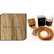 Zen Luxury, Pretaped Hair extensions 22 inch Colour P21-27