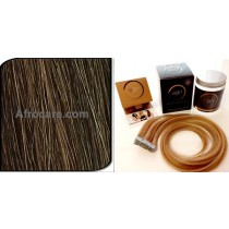 Zen Luxury, Pretaped Hair extensions 22 inch Colour P30-33-31