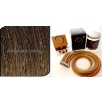 Zen Luxury, Pretaped Hair extensions 22 inch Colour T401-12