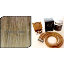 Zen Luxury, Pretaped Hair extensions 22 inch Colour T405-613