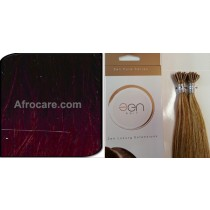 Zen Pure I-Tip Hair Extensions 18 inch Colour T400-Burg